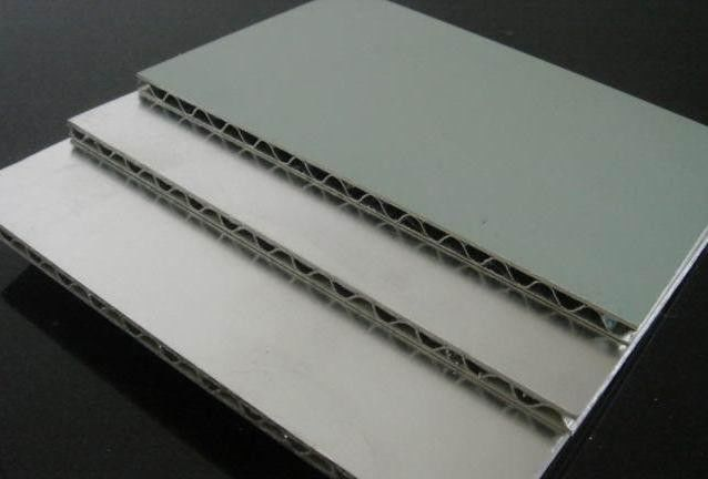 AA1100 Aluminum Alloy Corrugated Composite Panels PVDF Coating Decorative Street Signs